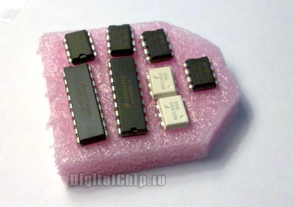 Вот так они пакуют микросхемы