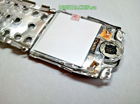 Экран Nokia 1100 с обратной стороны