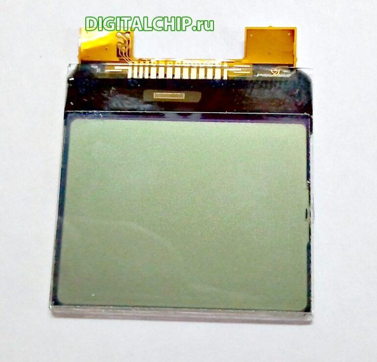 Сам экран Nokia 1100 с лицевой стороны