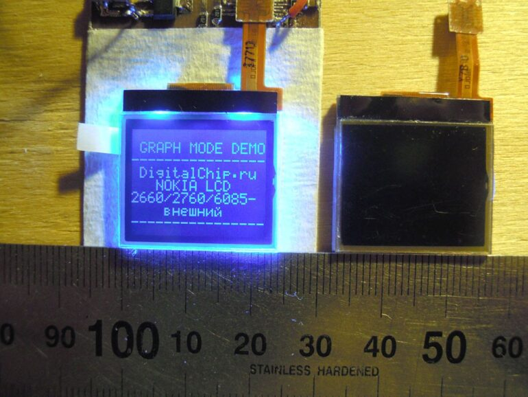 Lcd Nokia 2660/2760/6085