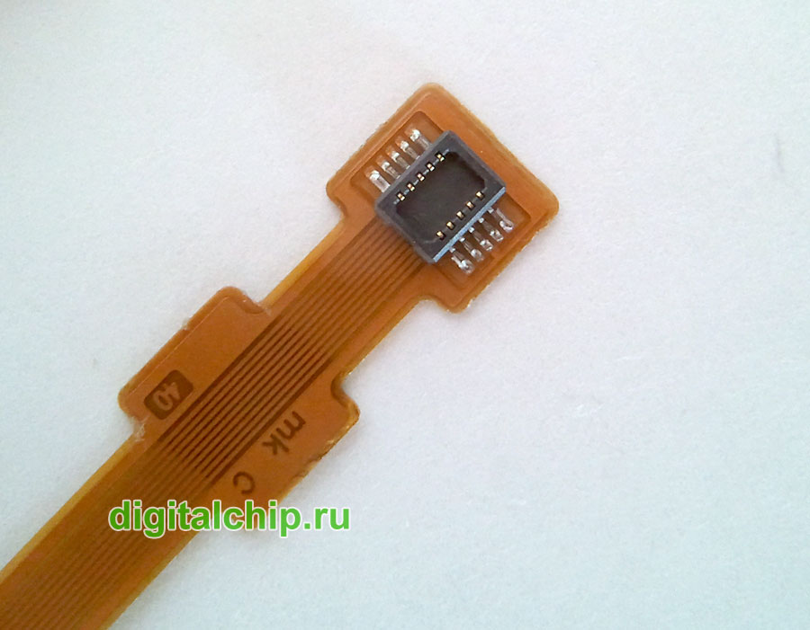 Разъем кабеля для подключения дисплеев Nokia