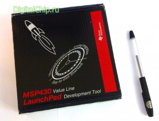 Коробка с LaunchPad 430