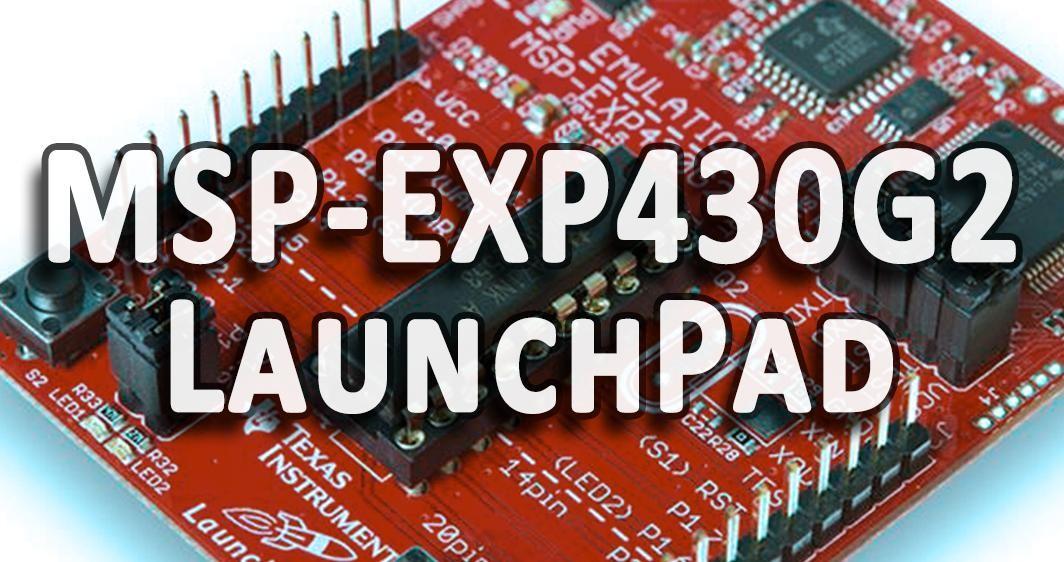 Энергия для Лаунчпада msp-exp430g2