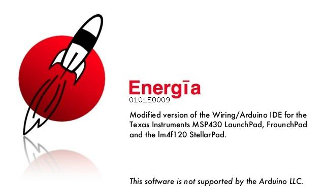 Launchpad MSP430 energia IDE