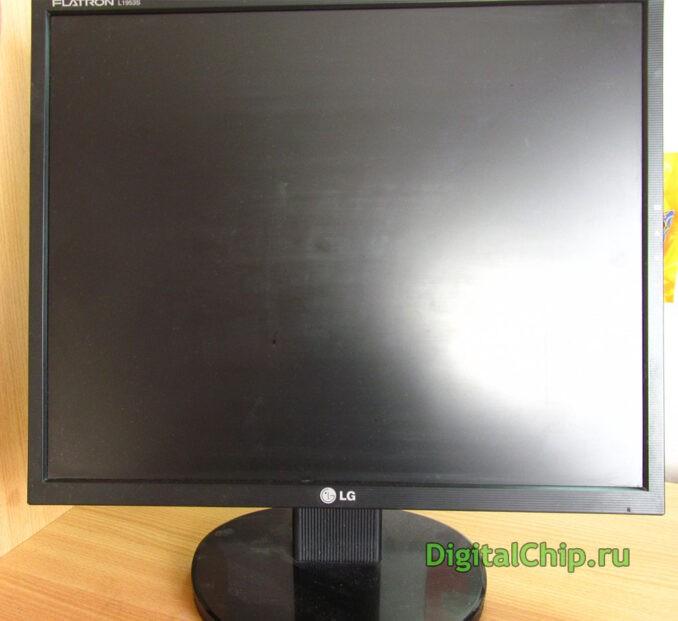 Монитор LG Flatron L1953s собственной персоной