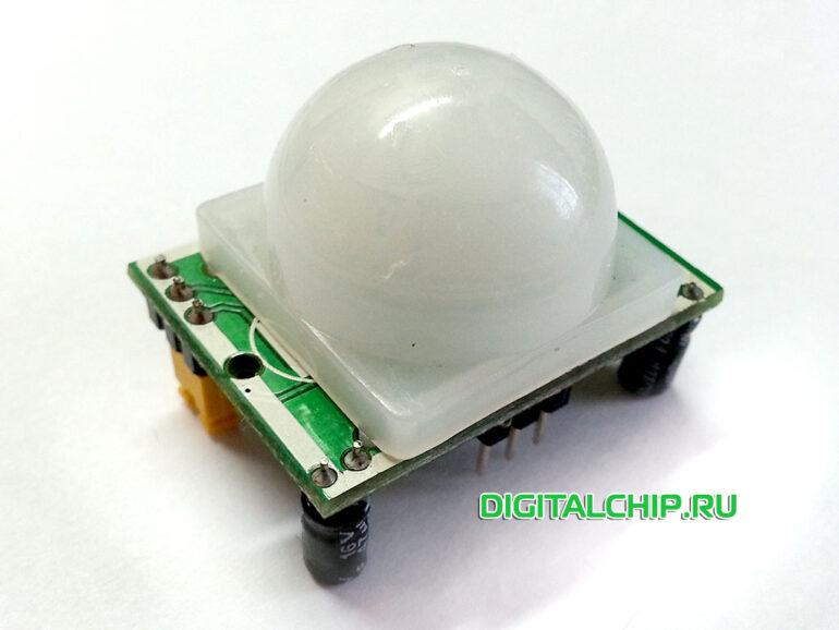Датчик движения HC-SR501 (PIR Motion sensor HC-SR501)