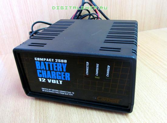 Зарядное устройство для стартерных батарей Compact 2500