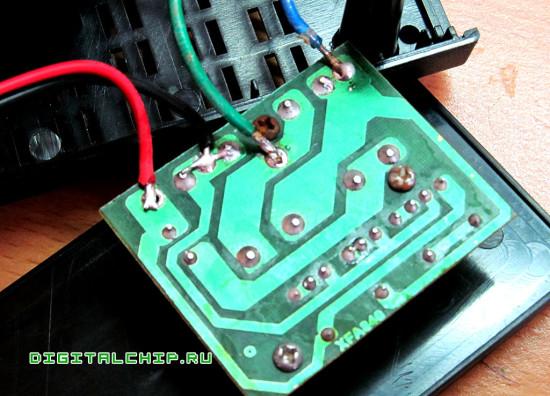 Зарядное устройство для стартерных батарей Compact 2500. Плата зарядника.