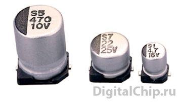 SMD Electrolytic Capacitor (электролитической конденсатор)