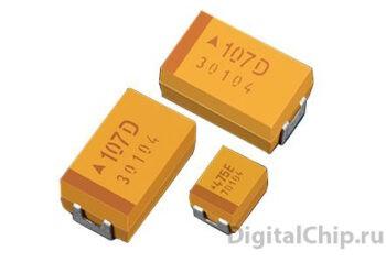 SMD Tantal Capacitor (танталовый конденсатор)
